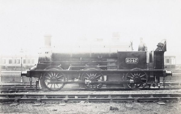 Locomotive no 2047 0-6-0 tank Date