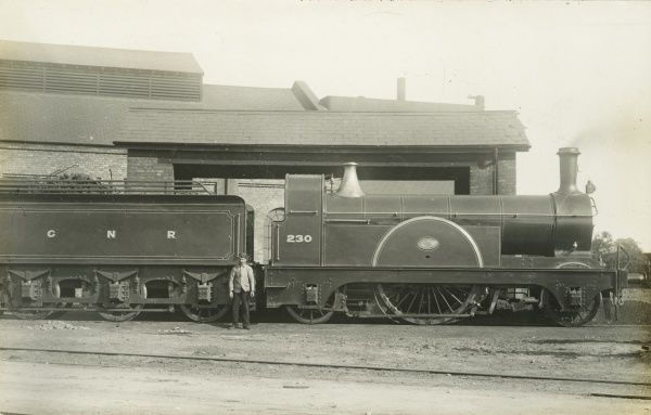 Locomotive no 230 Date