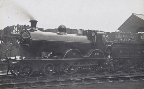 Locomotive no 235 4-4-0 Date