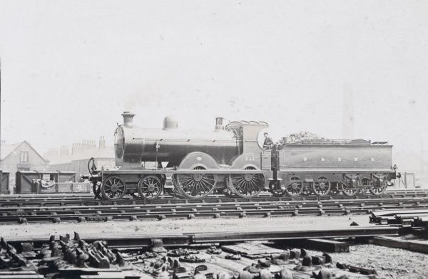 Locomotive no 241 4-4-0 Date