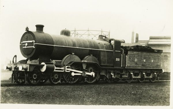 Locomotive no 251 4-4-2 Atlantic express Date