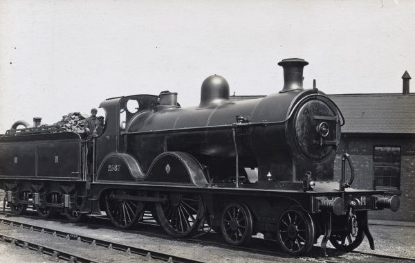 Locomotive no 2587 4-4-0 Date
