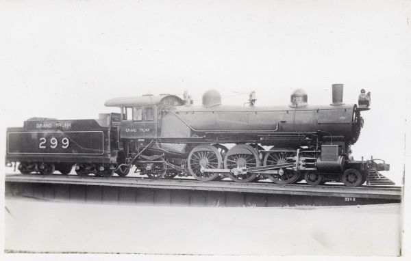 Locomotive no 299 4-6-2 Date