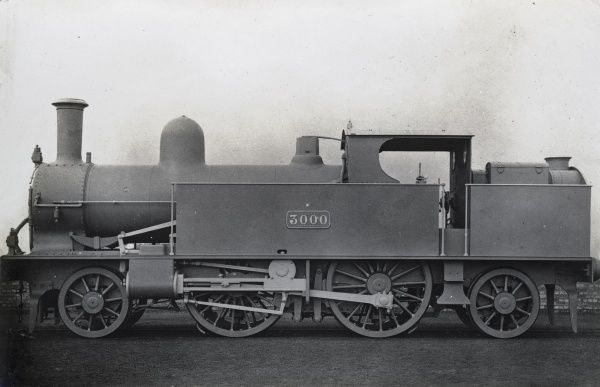 Locomotive no 3000 2-4-2 tank Date