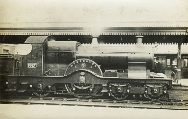 Locomotive no 3027 Worcester Date