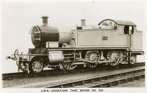 Locomotive no 3120 double end tank engine Date
