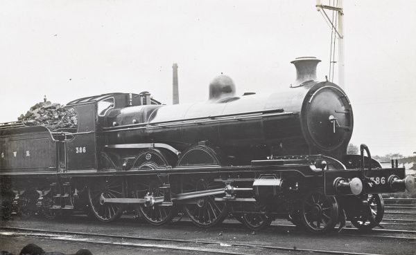 Locomotive no 386 4-6-0 Date