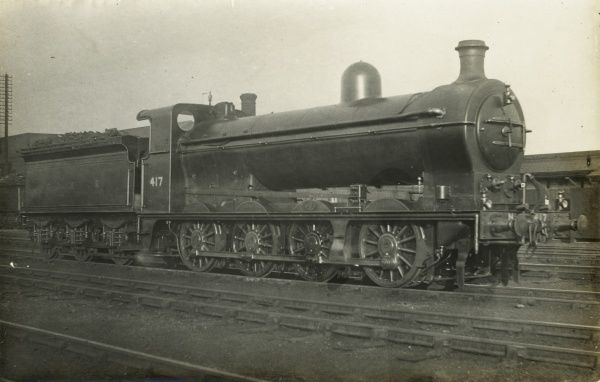 Locomotive no 417 0-8-0 engine Date
