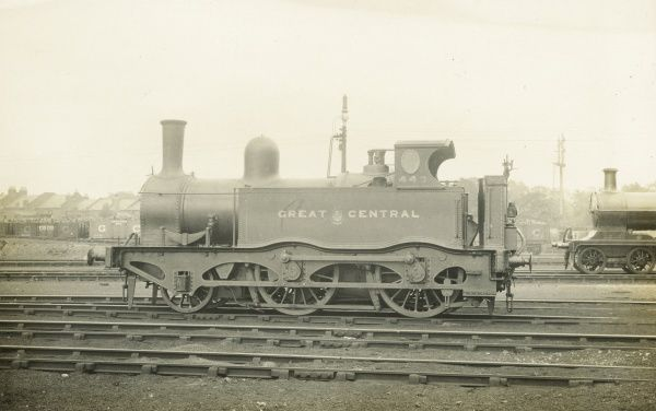 Locomotive no 449 2-4-0 engine Date