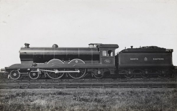 Locomotive no 709 4-4-2 Date