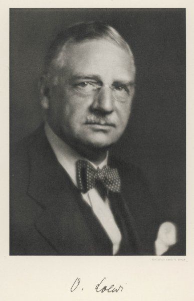 OTTO LOEWI American pharmacologist, born in Germany
