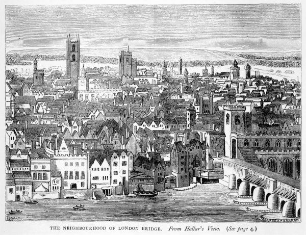 the neighbourhood of London Bridge in the reign of Charles I
