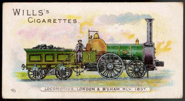 Locomotive of the London and and Birmingham Railway