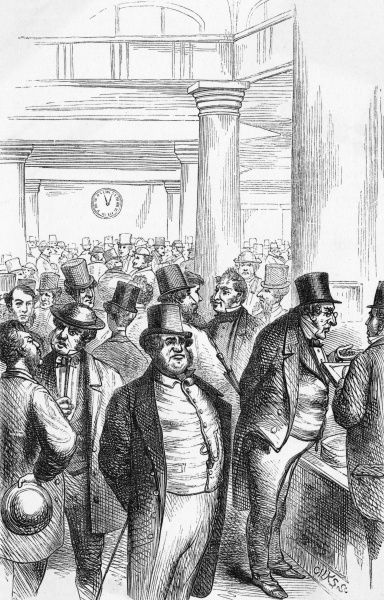 Dealers at the London Corn Exchange Date: 1865