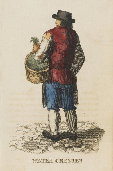 The watercress seller
