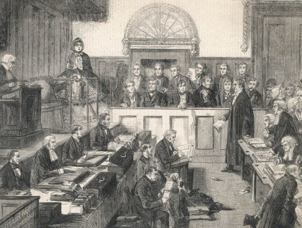 THE DIVORCE COURT, London