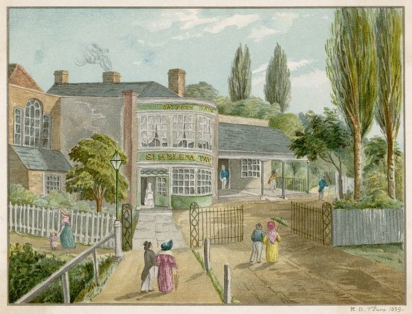 How Rotherhithe used to look
