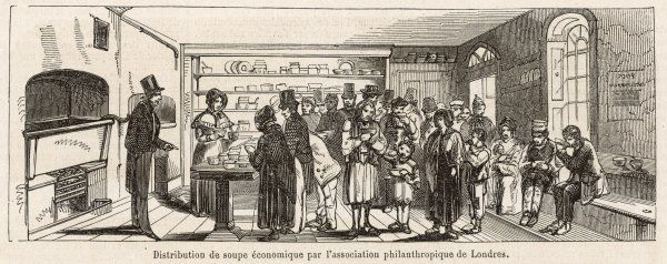 The soup kitchen of the London Philanthropic Association