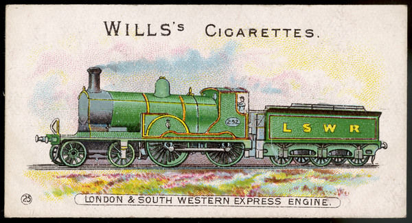 London and South Western Railway express locomotive no 292