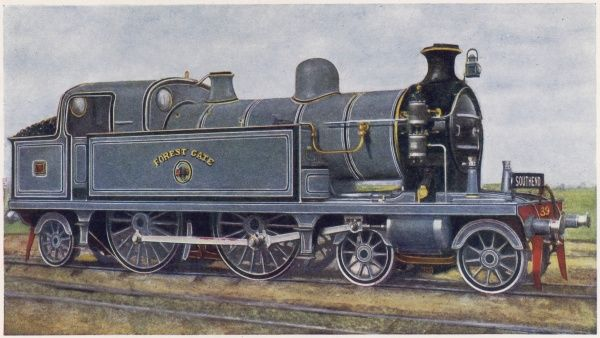 London, Tilbury and Southend Railway tank loco no 39