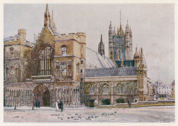 Westminster Hall and Victoria Tower
