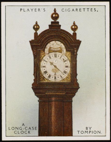 Long-case clock by Thomas Tompion