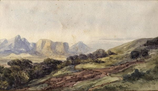 Looking North from Table Mountain. Date: 1864