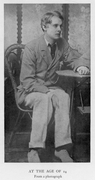 Lord ALFRED BRUCE DOUGLAS writer, friend of Oscar Wilde in 1894, at age 24