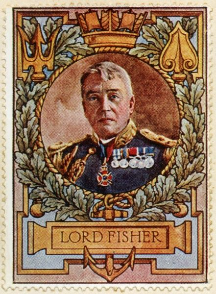 JOHN ARBUTHNOT FISHER 1st Baron Fisher, Admiral and Sea Lord of the Royal Navy