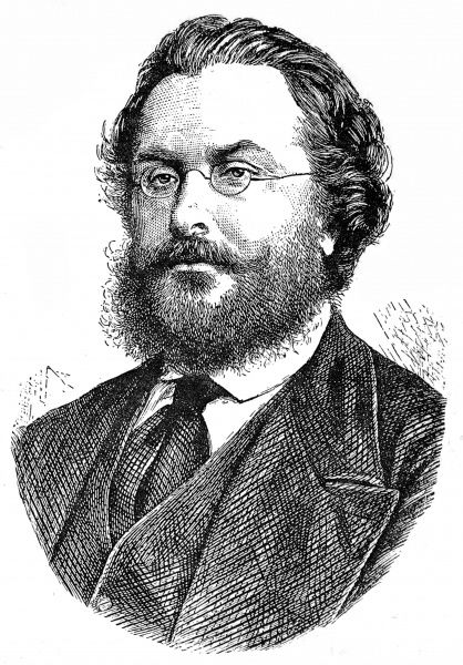Engraving of Lord Odo William Leopold Russell, 1st Lord Ampthill, the distinguished diplomat who served as British Ambassador at Berlin, 1871-1884