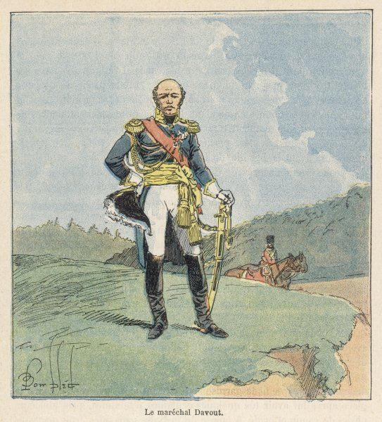LOUIS-NICOLAS DAVOUT DUKE OF AUERSTADT PRINCE OF ECKMUHL French soldier