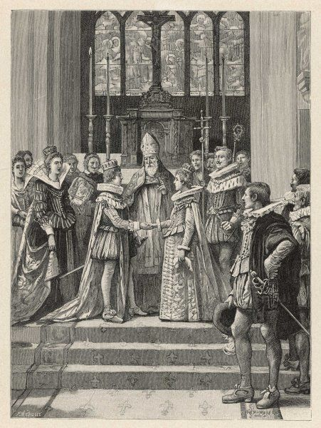 Louis XIII weds Anne d'Autriche, who will eventually be the mother of Louis XIV