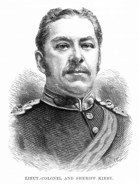 Lieutenant-Colonel and Sheriff Alfred Kirby