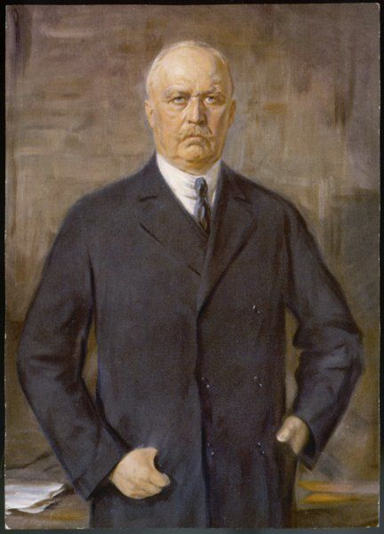 General E F W VON LUDENDORFF German general and statesman