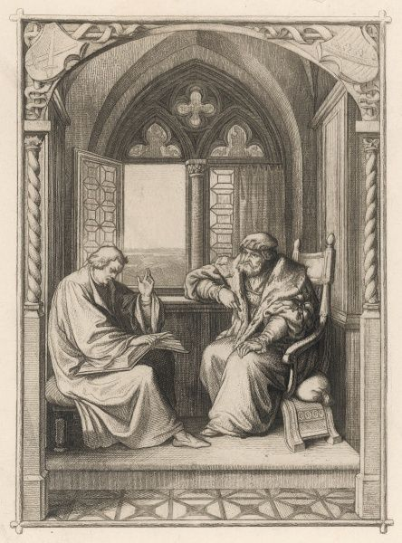 THE MARBURG COLLOQUY He debates theological issues with Zwingli at Marburg but they are unable to agree on the significance of Jesus's words at his Last Supper