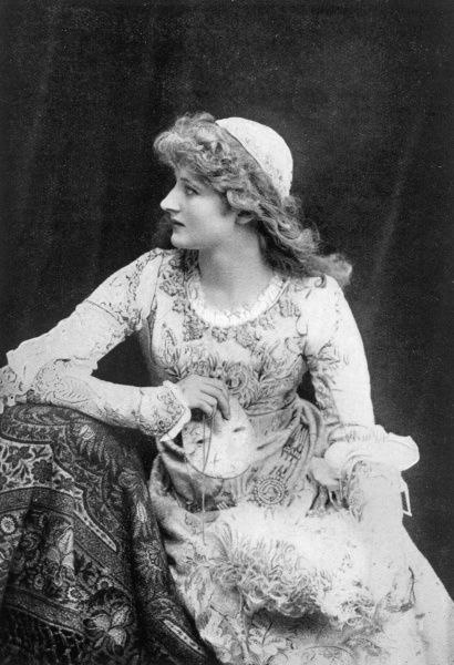 MARY ANDERSON American actress in the role of Juliet in Shakespeare's Romeo and Juliet