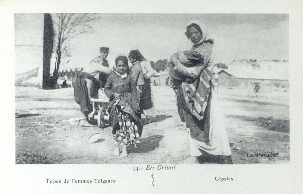 Macedonian Gypsies Date: circa 1913