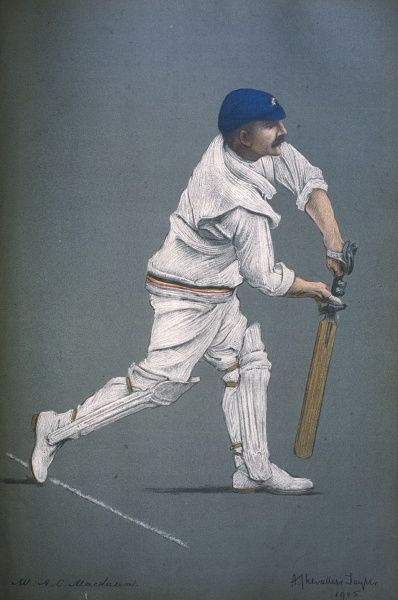 Archie C MacLaren - Cricketer for Lancashire and England