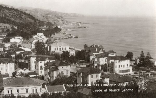 Malaga, Spain - View of El Limonar by Monte Sancha