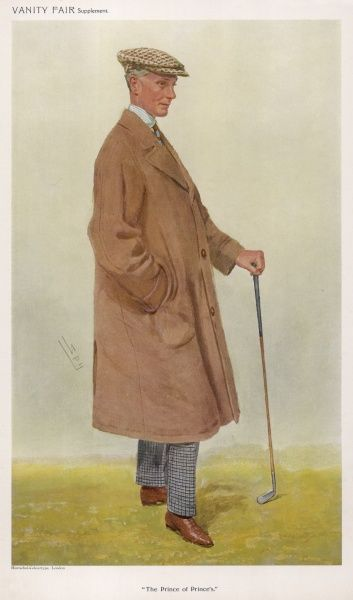 Sir Harry Mallaby-Deeley, course architect and designer of Prince's Golf Club, Kent