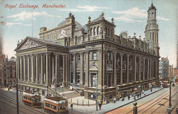 Manchester - The Royal Exchange Date: circa 1910s