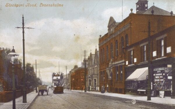 Manchester - Stockport Road, Levenshulme Date: circa 1910s