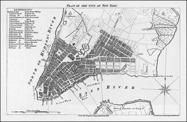 A Plan of the City of New York