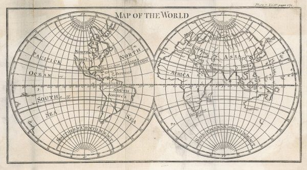 Earth's globe still far from completely mapped - note how North America and Australia fade away