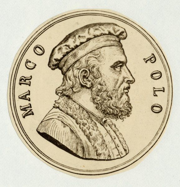 MARCO POLO Venetian merchant, traveller and author