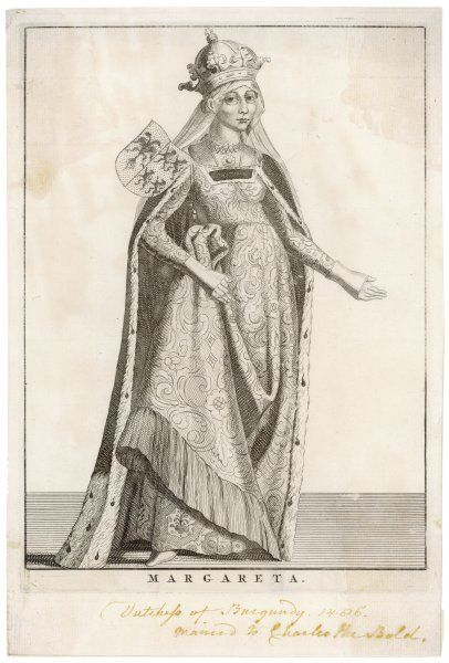 MARGARET OF YORK also known Margaret, duchess of Burgundy, sister of Edward IV and Richard III of England, third wife to Charles the Bold, duke of Burgundy