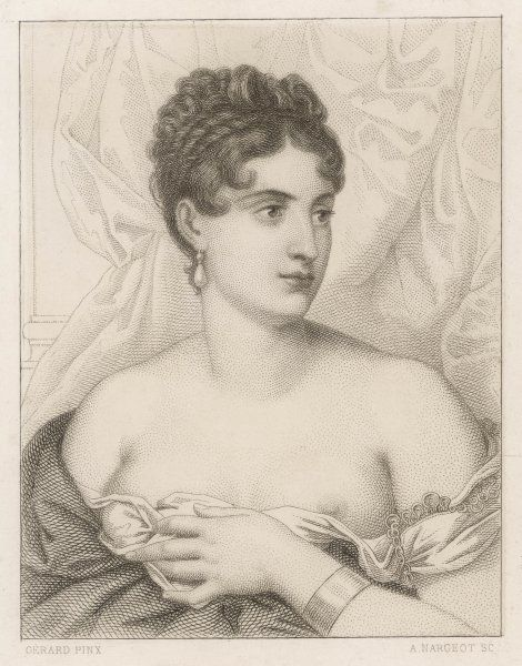 MARGUERITE GEORGES WEYMER French actress, made her Paris debut in 1802 and was briefly the mistress of Napoleon