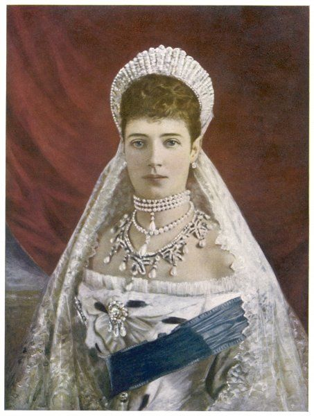 MARIA FEDOROVNA Wife of Alexander III, Tsar of Russia, daughter of Christian IX of Denmark