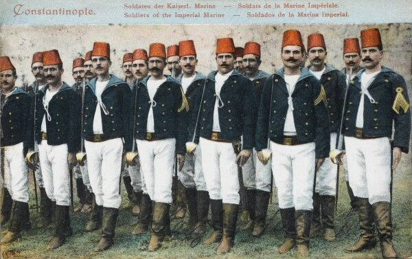 Imperial Turkish Marines of the Turkish Navy