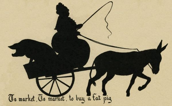 To Market, To Market, To Buy a Fat Pig Date: circa 1918